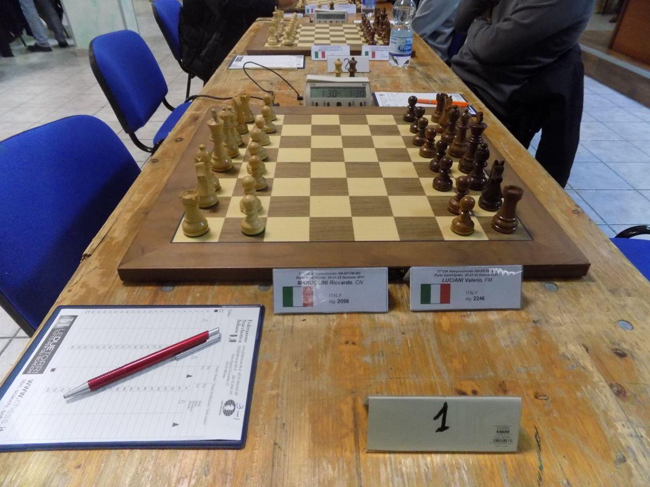 gioco scacchi croce verde porto sant'elpidio